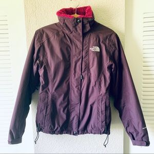 The North Face HyVent Fur Lined Winter Jacket